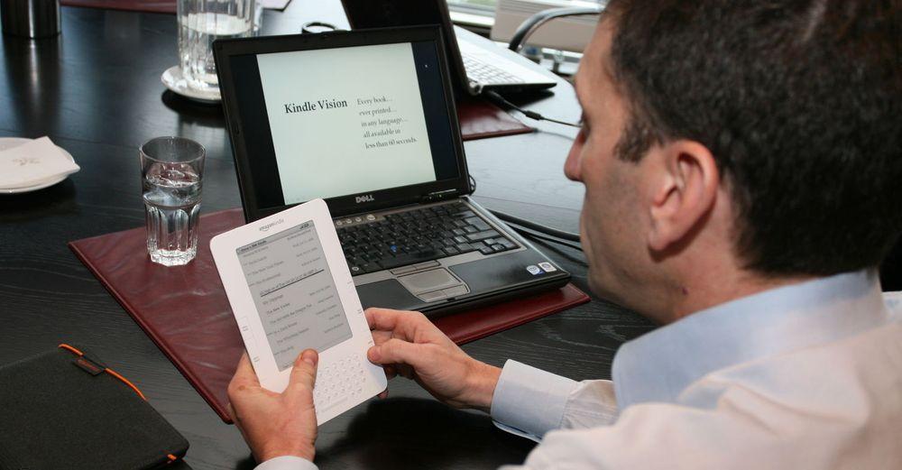 Kindle-funksjonen @author gir mer interaktivitet. Tjenesten er i beta-stadiet, ifølge Amazon.