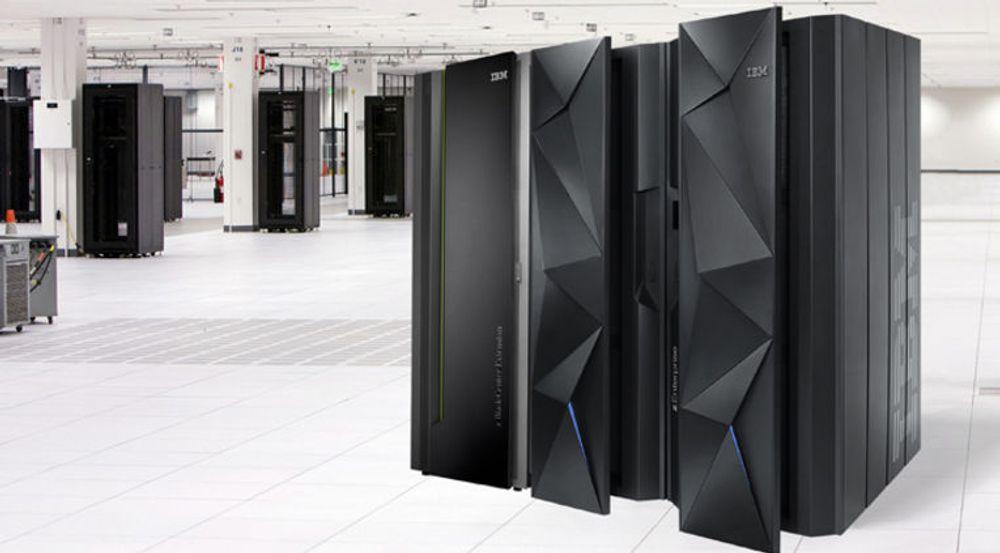 Med tilhørende programvare, tjenester og lagring står IBMs stormaskiner, her representert ved den ny zEC12, for over 40 prosent av selskapets samlede resultat.