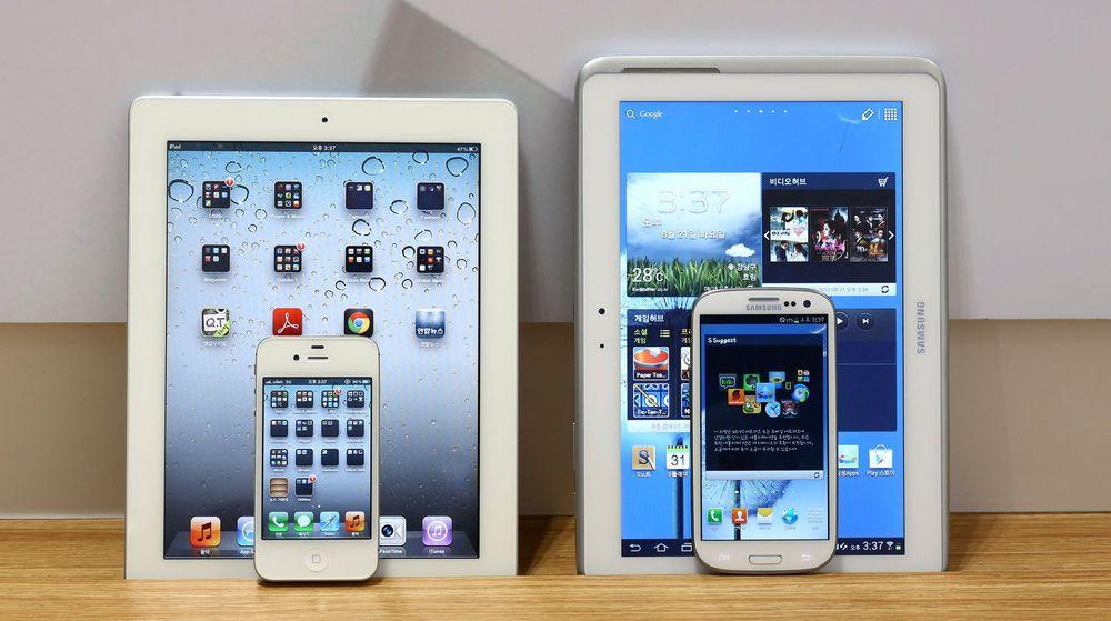 Samsung gikk på et sviende nederlag i rettsaken Apple anla mot selskapet. En jury har funnet at det sørkoreanske selskapet har kopiert flere av Apples produkter, blant annet iPad.