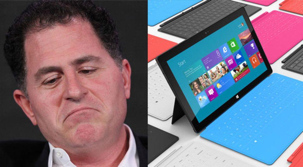Michael Dell tror ikke Microsoft Surface blir noen salgssuksess.