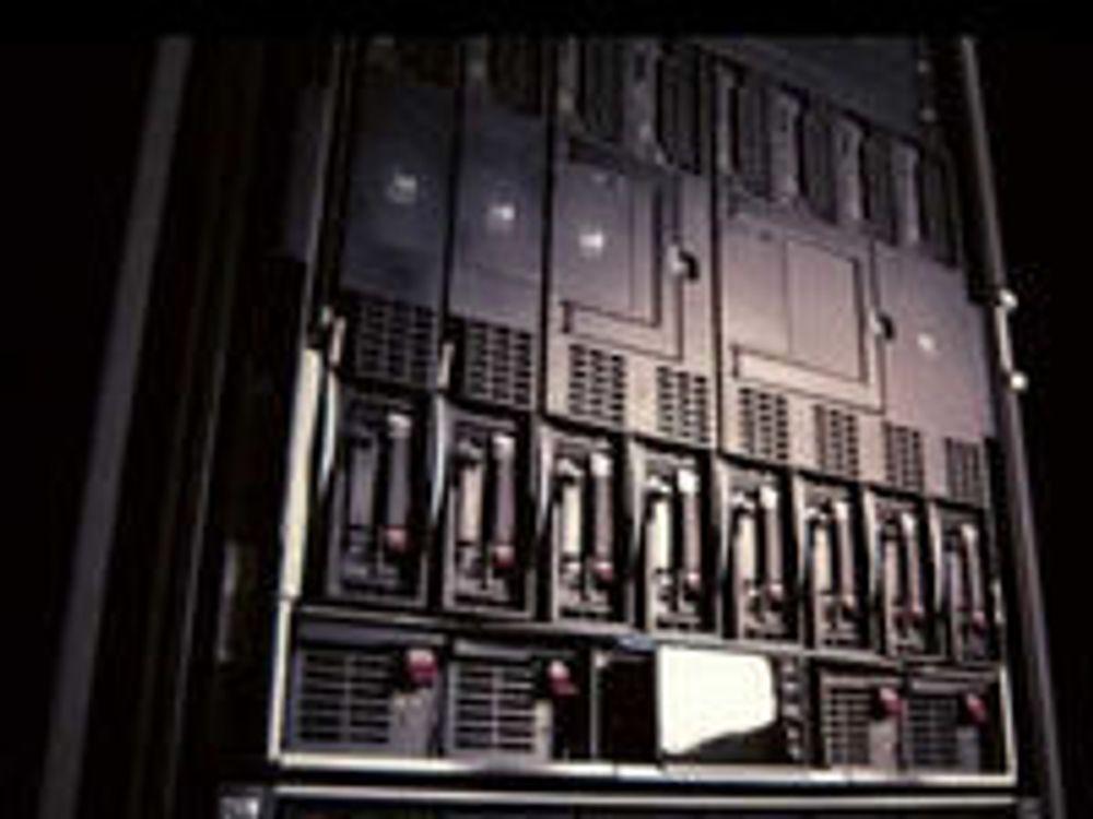 HP overtar servertronen etter IBM