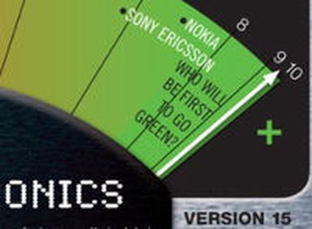 Greenpeace Guide to Greener Electronics versjon 15, mai 2010.