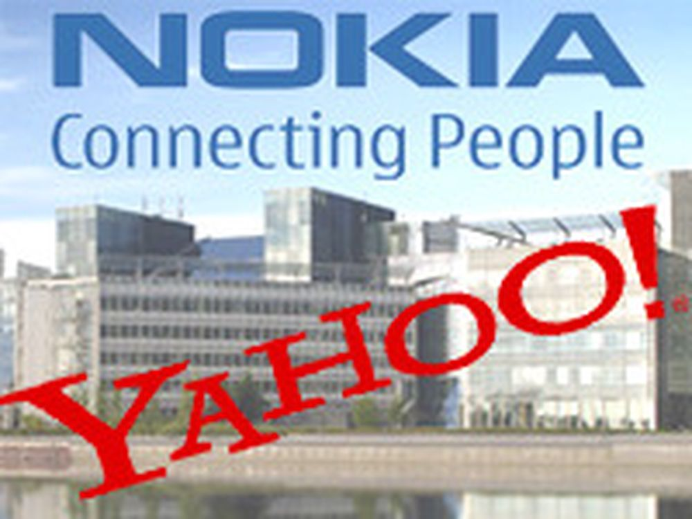 Nokia og Yahoo sammen mot Google