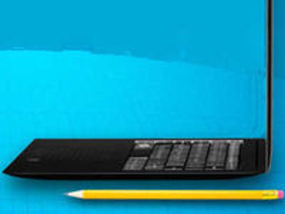 Intel med nytt for de ekstra tynne