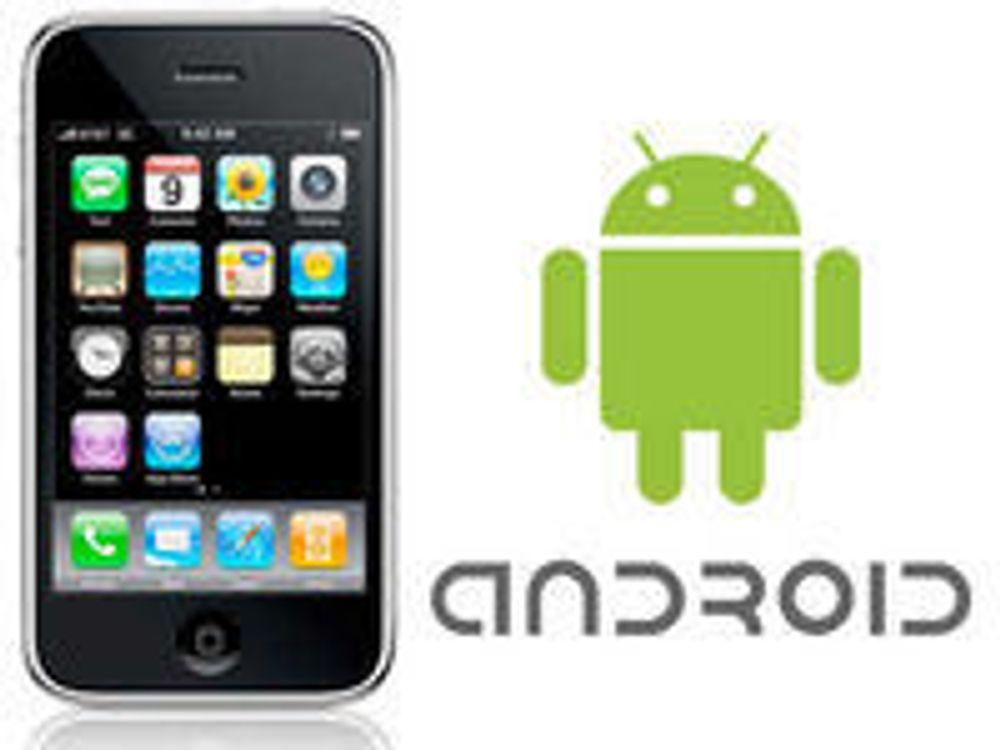 Benekter at iPhone dankes ut av Android