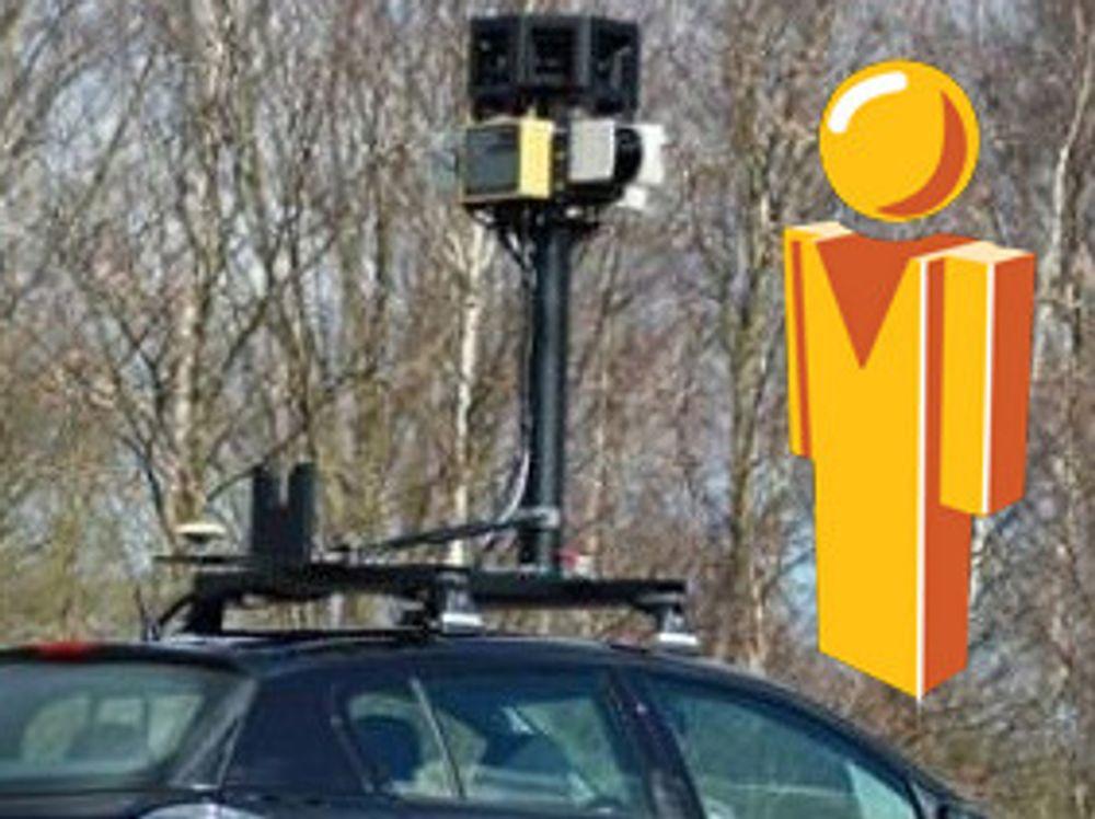 Street View-biler lagret e-postmeldinger