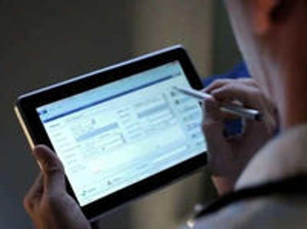 Utfylling og signering av spesialiserte skjemaer er en hovedgrunn til å velge Slate framfor vanlig minibærbar.