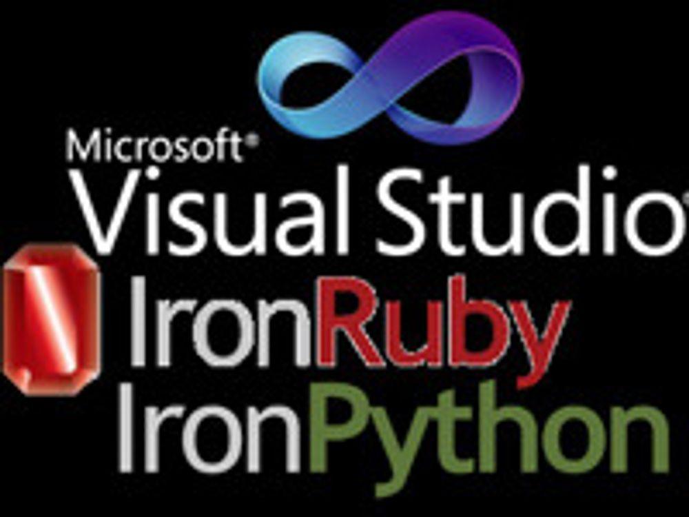Microsoft kvitter seg med .NET-skriptspråk