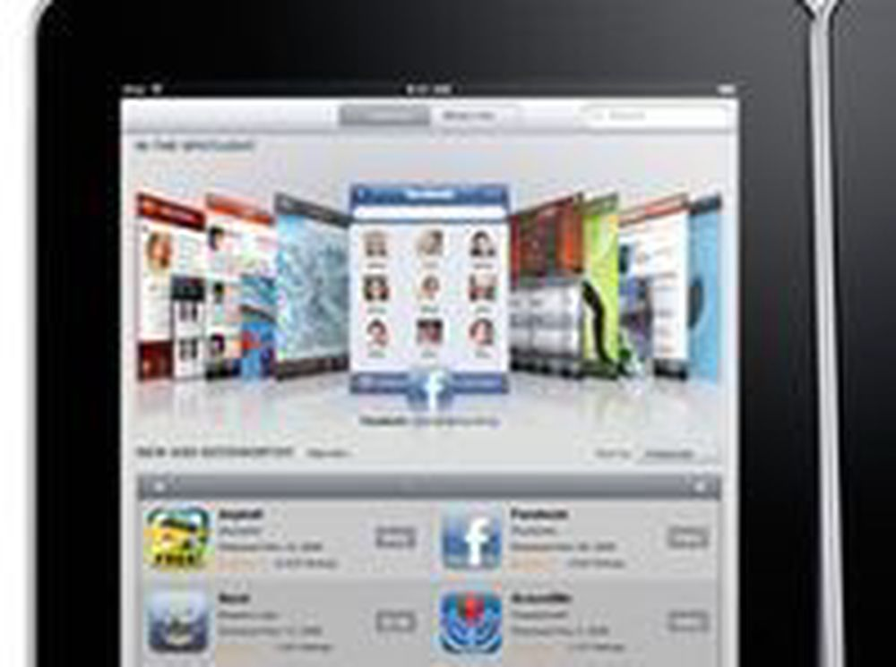 Mange iPad-brukere installerer ikke apper