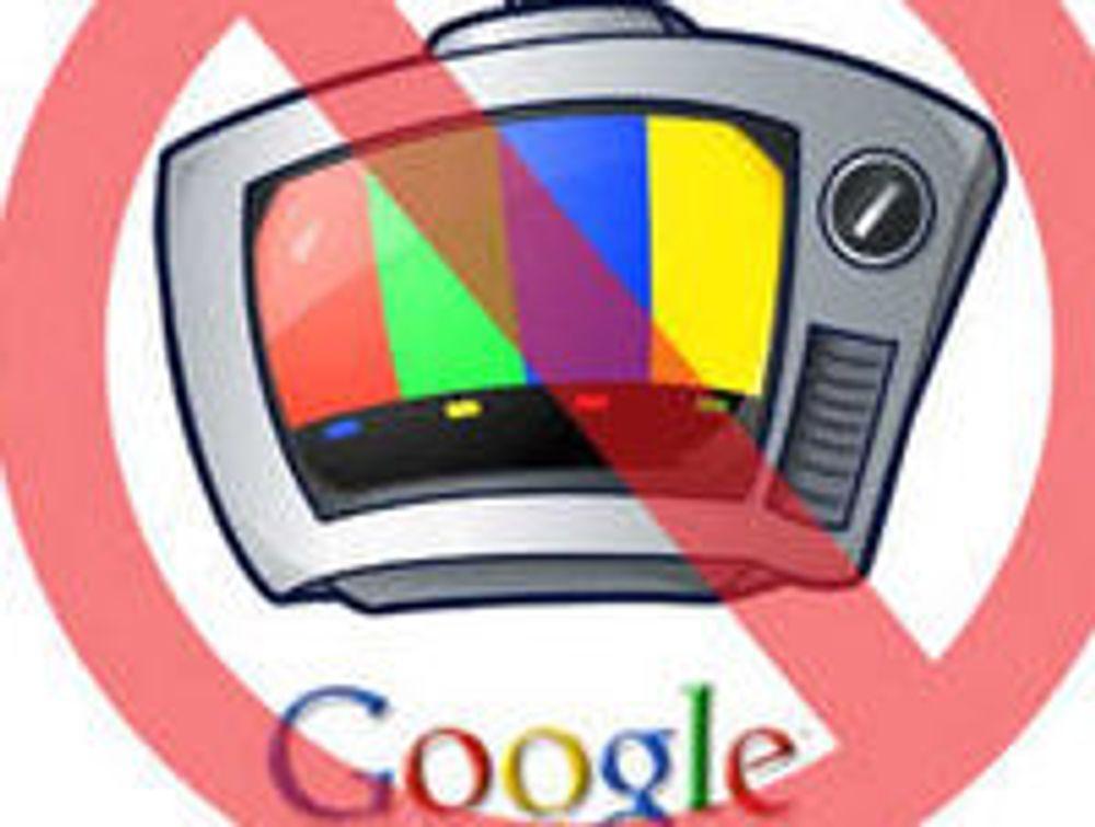 TV-kanaler blokkerer Google