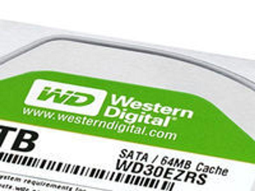 Western Digital beholder harddisktronen