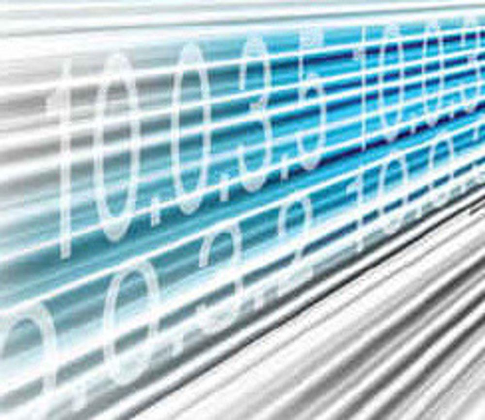 Ledige IP-adresser halvert på ni måneder