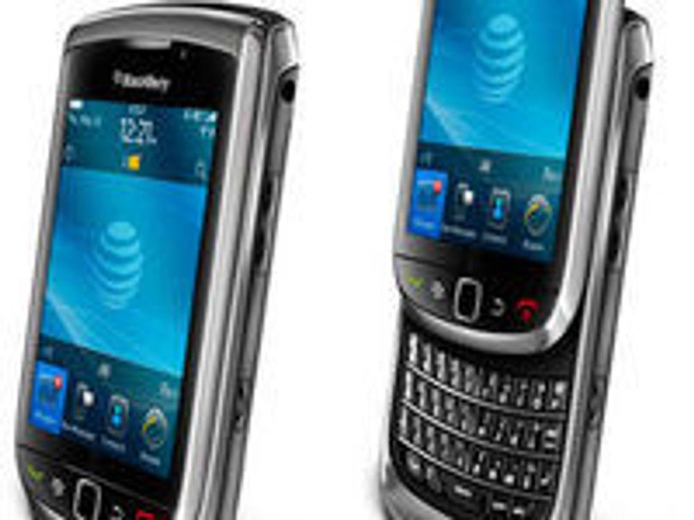 Blackberry Torch 9800 lanseres i Norge neste uke. Det er den første modellen med det nye OS 6, og er samtidig RIMs første modell med skyvbart tastatur.