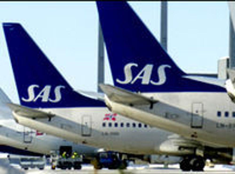 SAS får bredbånd i alle fly