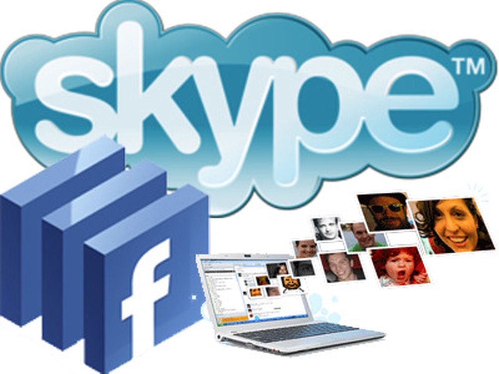 Ny Skype er integrert med Facebook