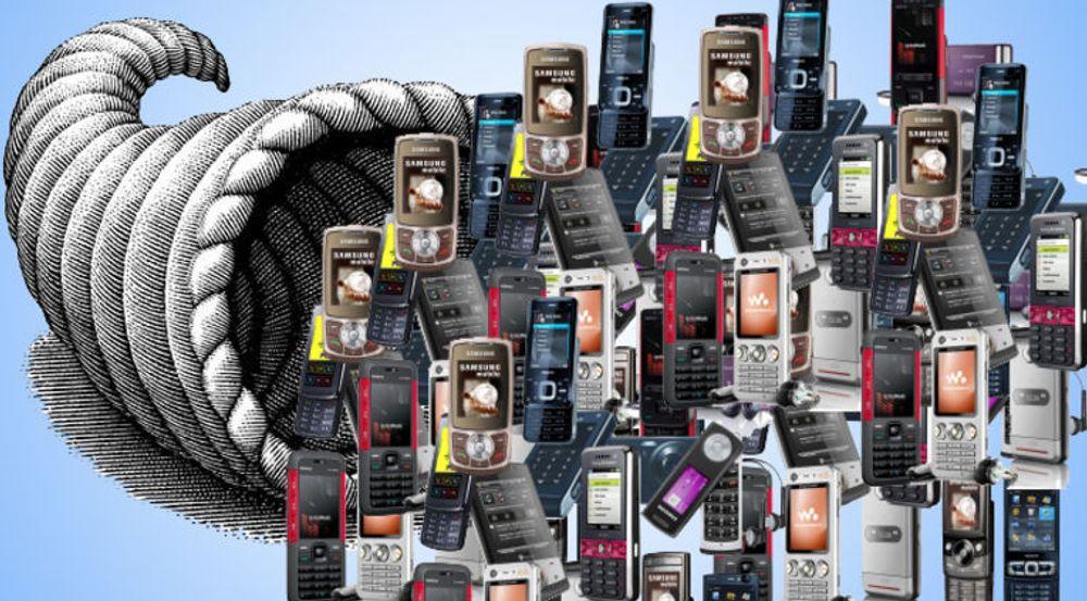 Veksten i antall norske mobilabonnementer er en tre del av hva den var i fjor, sier Post- og teletilsynet.