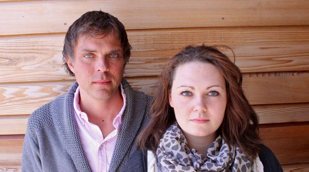 Gisle Olsen og Lene Salberg Bratlie er tillitsvalgte for studentkullet som klaget Høgskoklen i Vestfold inn til Datatilsynet.