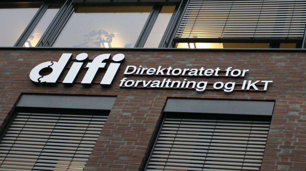Det Arild Haraldsen framstiller som tvang fra Difi, dreier seg om et rundskriv fra Fornyingsdepartementet som det er Difis oppgave å følge opp, skriver Hans Christian Holte.
