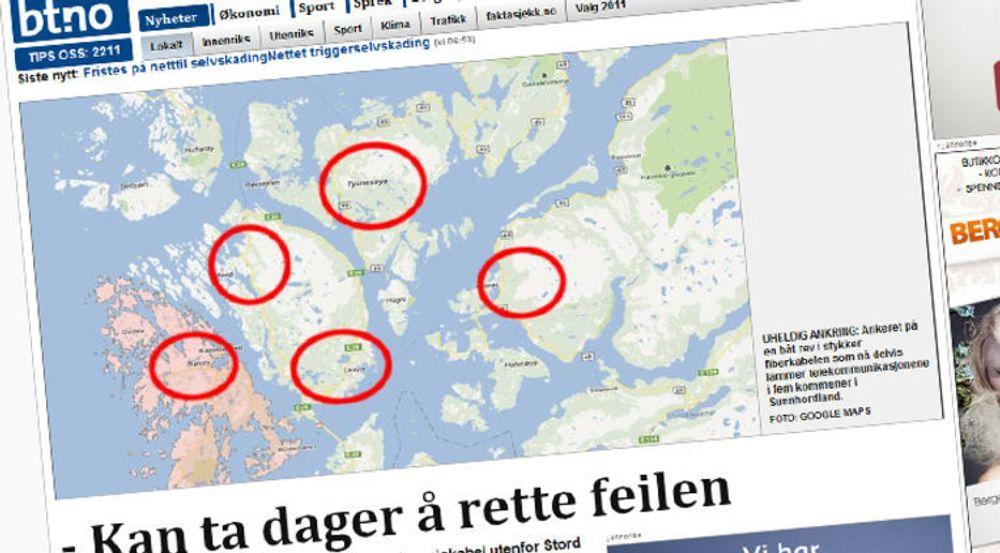 Bergens Tidende følger saken nøye, her fra ete oppslag lørdag ettermiddag.