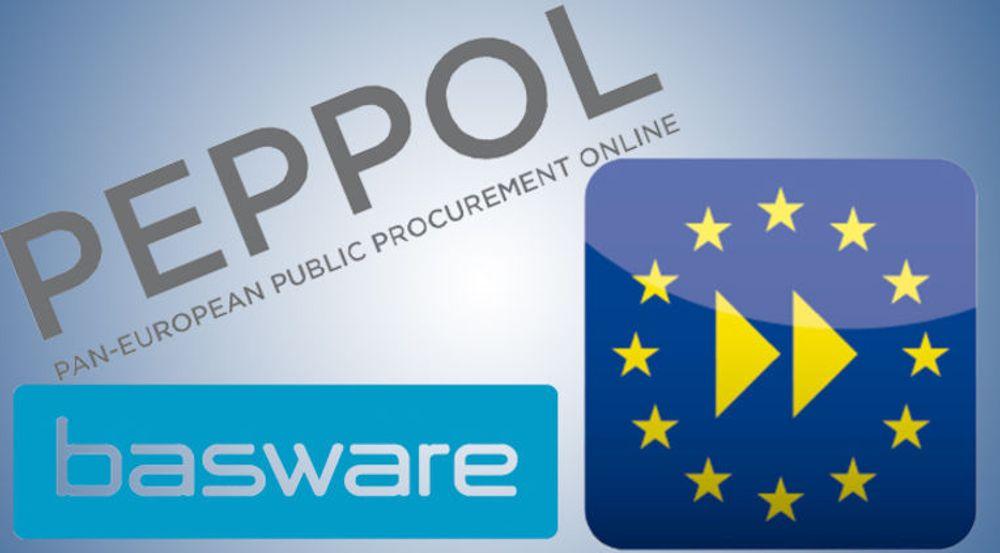Baswares implementasjon av EU-standarden Peppol gir kundene anledning til å sende efakturaer til offentlig virksomhet i alle EU-land, samt Norge.