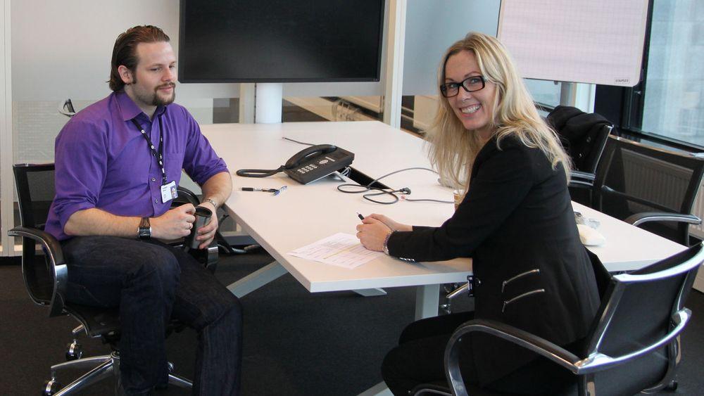 HP Norges nye sjef, Anita Krohn Traaseth, skal møte samtlige ansatte til en speed-date i tiden som kommer. Også kunder og partnere vil bli invitert. Kostnadsfokus har gått igjen som tema, avslører den nye sjefen.