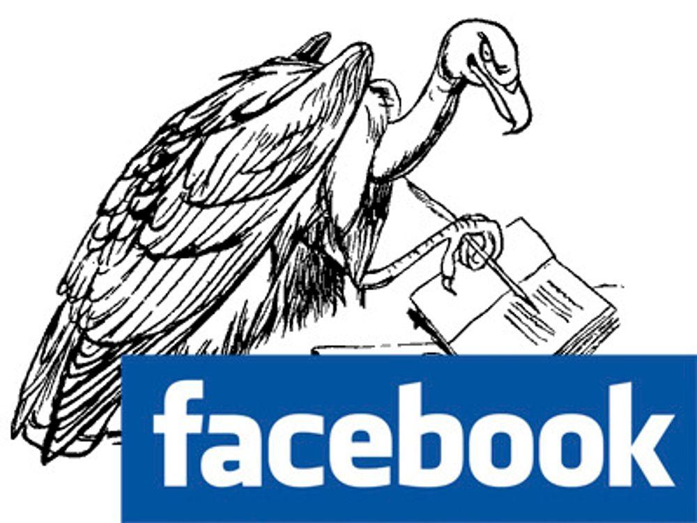 Facebook-tvillingene gir seg