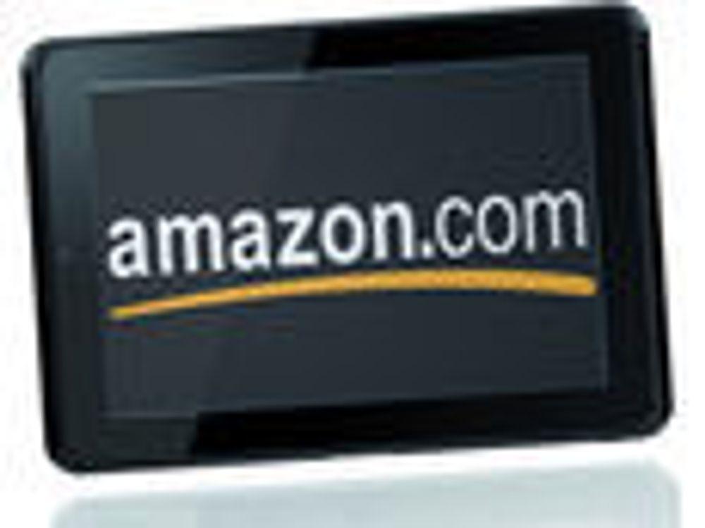- Amazon klar med nettbrett