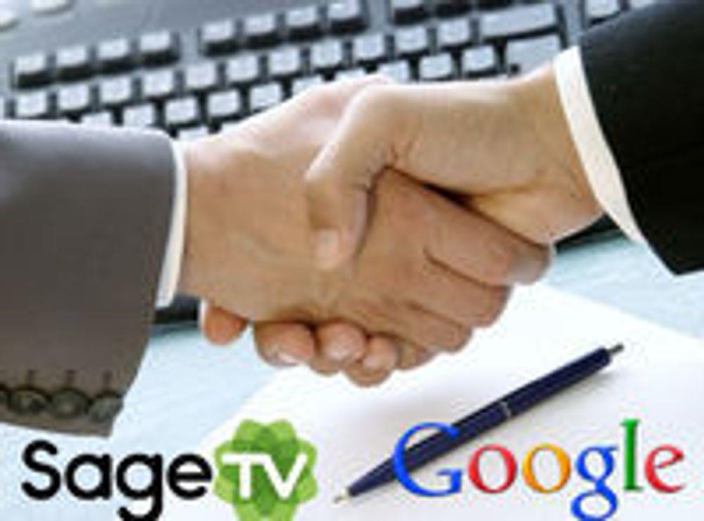 Google kjøper programvareselskapet SageTV