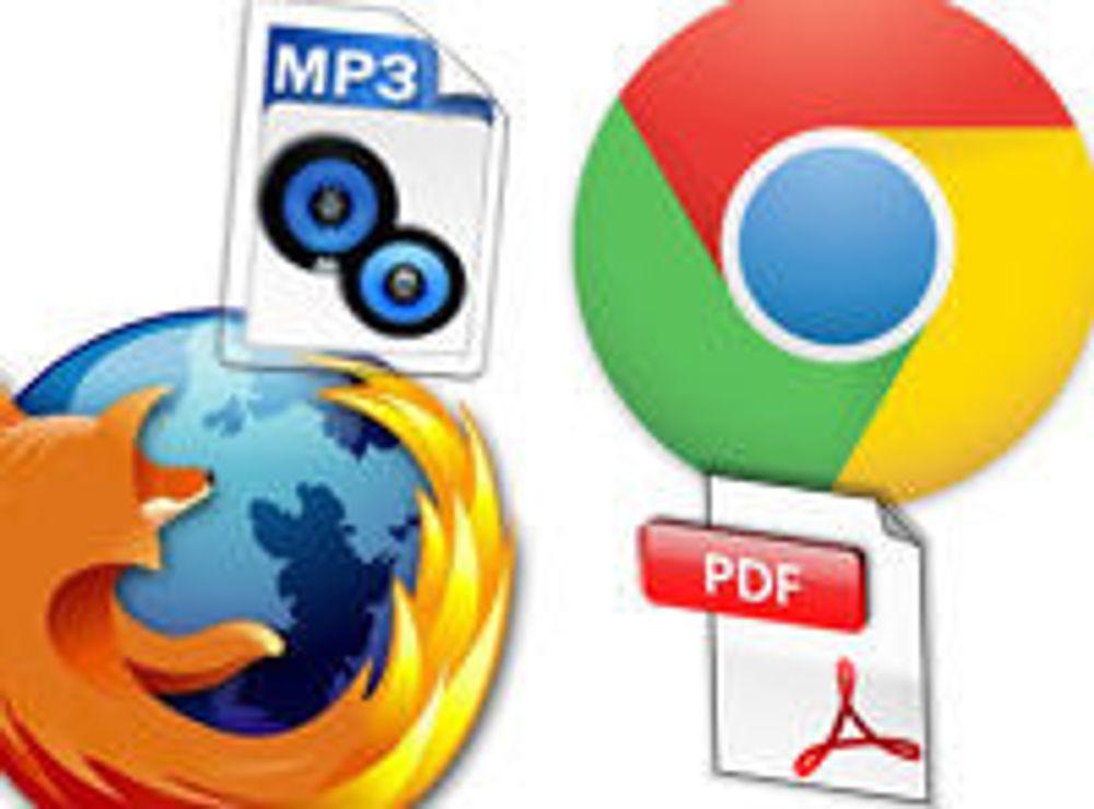 Dekoder MP3 og PDF med JavaScript