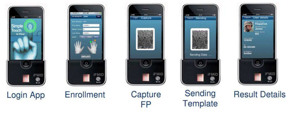SIC Biometrics tilbyr blant annet løsninger med biometrisk autentisering på iPhone.
