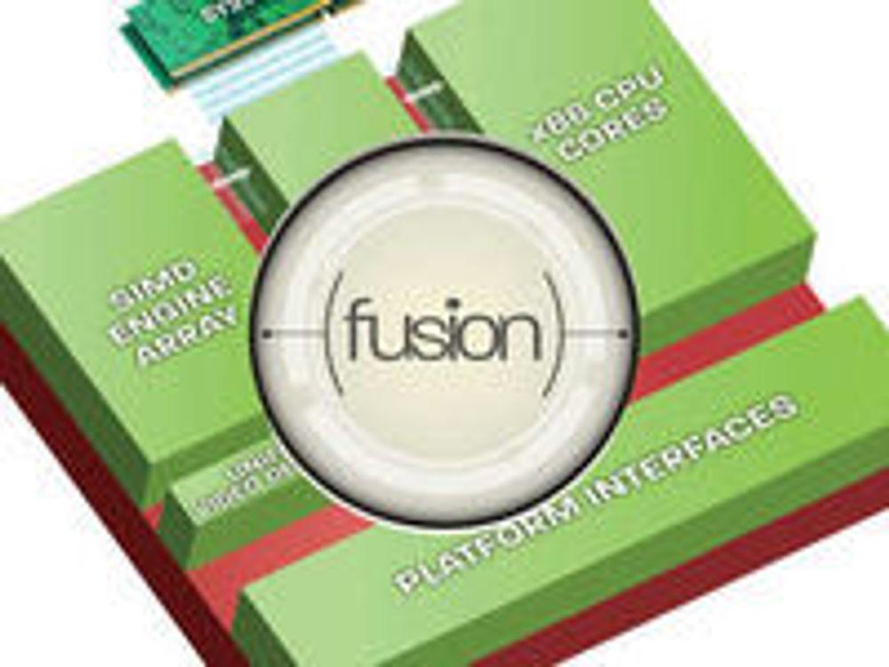 AMD med kraftigere Fusion-prosessorer