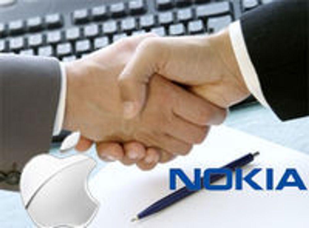 Apple betaler erstatning til Nokia