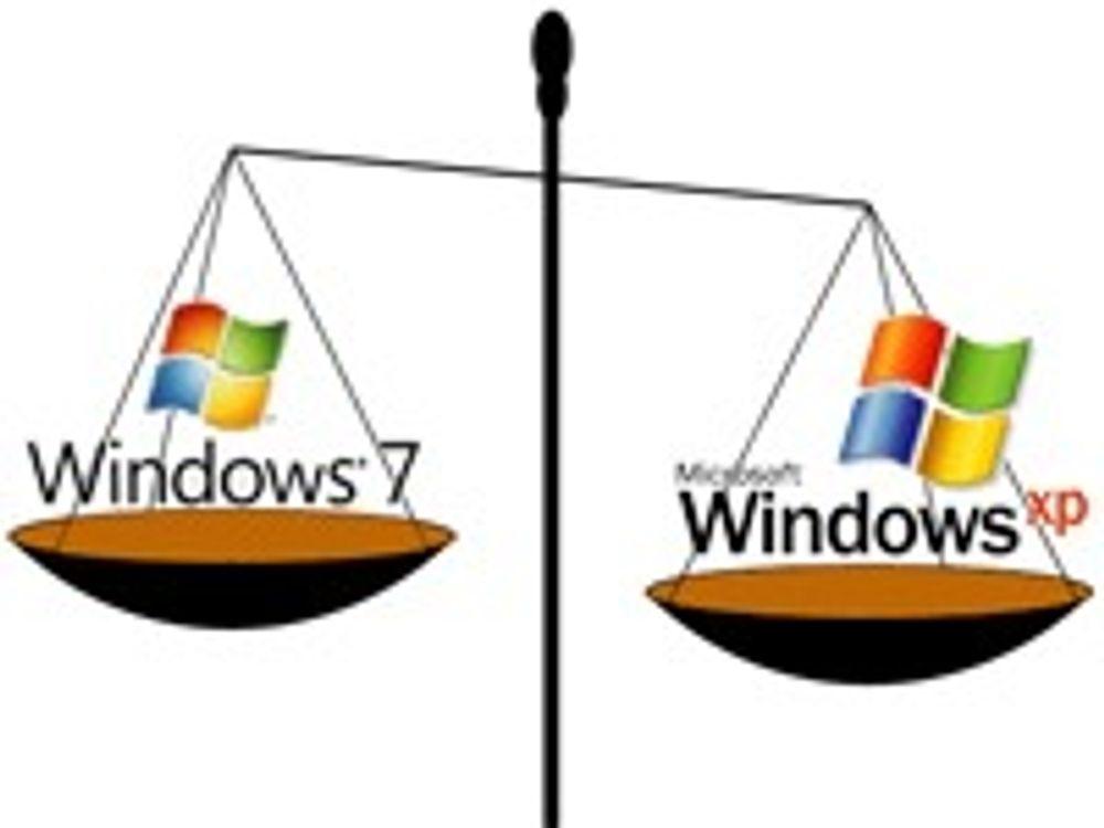 Vil selge Windows 7 med nedgraderingsrett