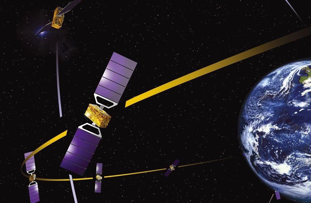 Illustrasjonsbilde for EUs system for satelittnavigasjon. Bilde: ESA-J.Huart