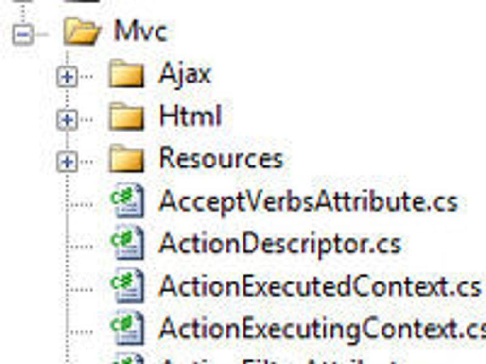 Microsoft åpner koden til webrammeverk