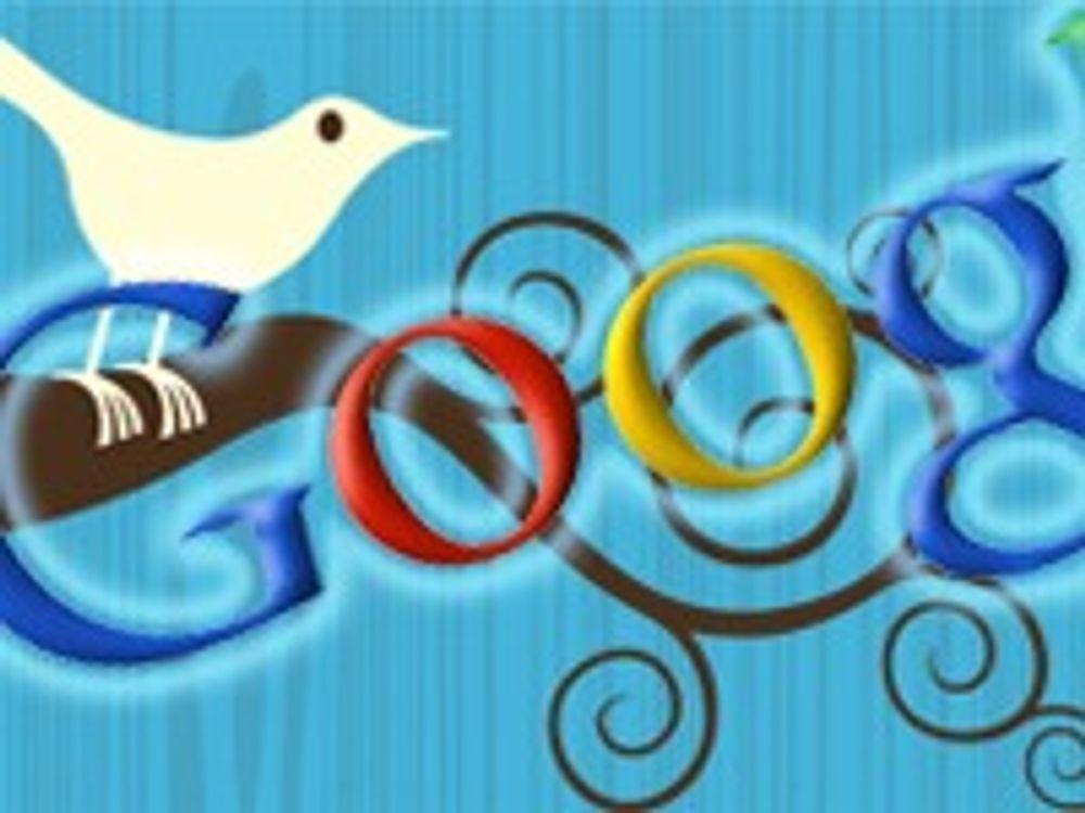 Google sikler på Twitter
