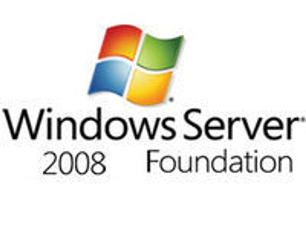 Lanserte billigversjon av Windows Server