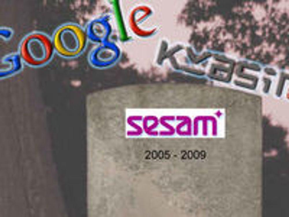 - Trist at Sesam legger ned