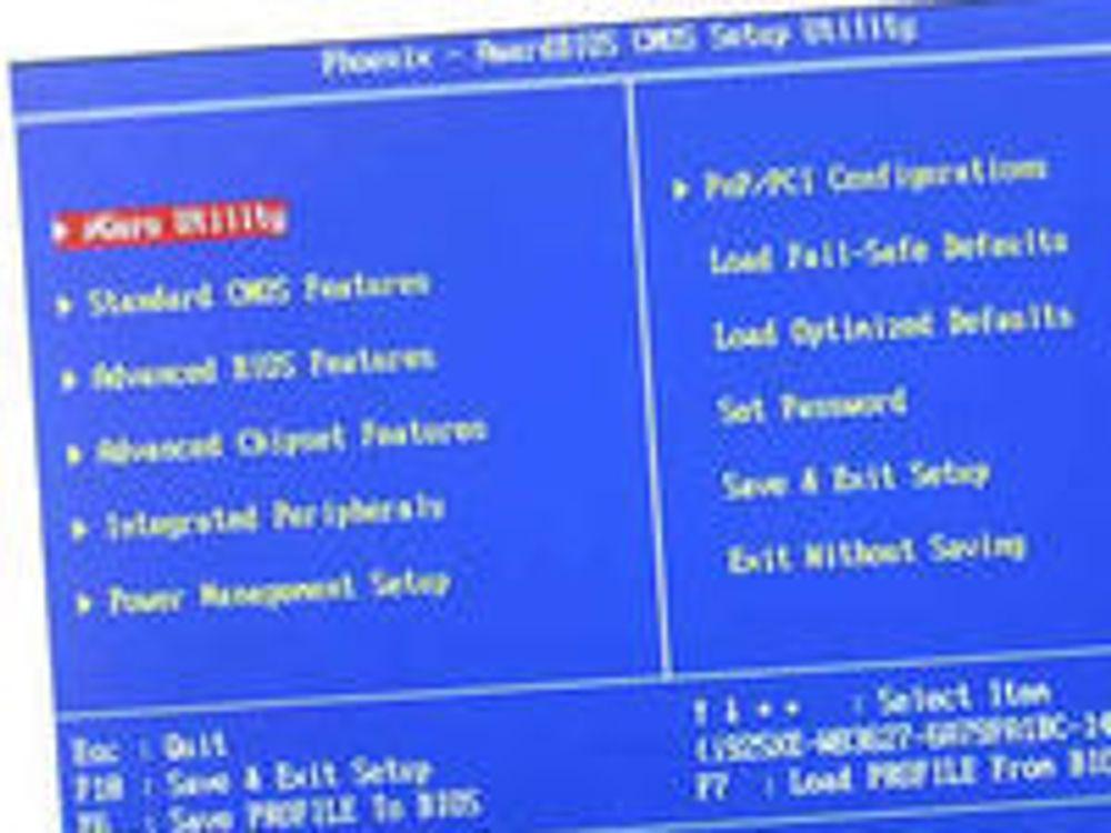 Forskere skrev BIOS-virus