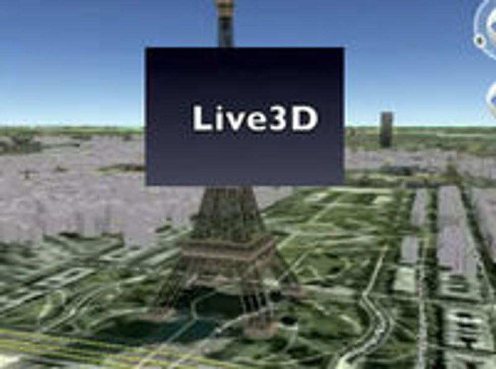 Lager «levende bilder» til Google Earth