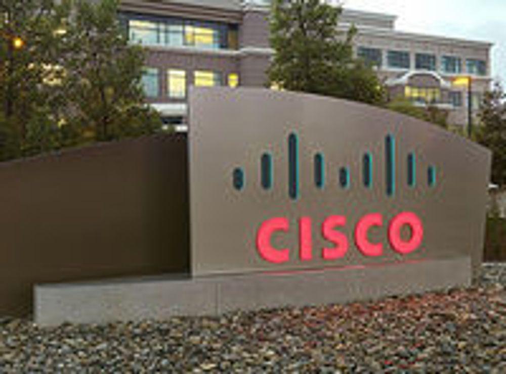 Cisco har avgjort lagt krisen bak seg
