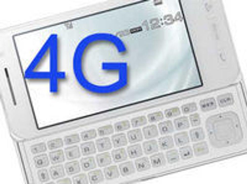 Viser frem 4G-mobil
