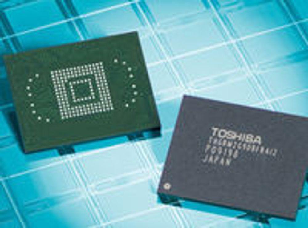 iPhone berget driften hos Toshiba