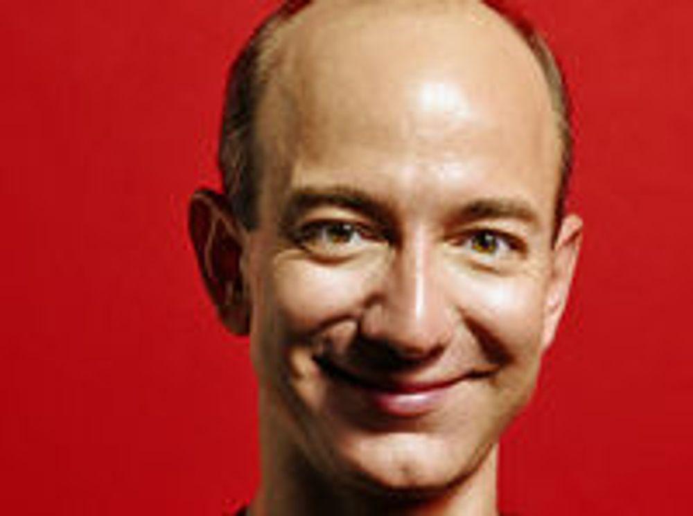 Amazon-sjef Jeff Bezos tror selskapets tosifrede vekst vil vare.