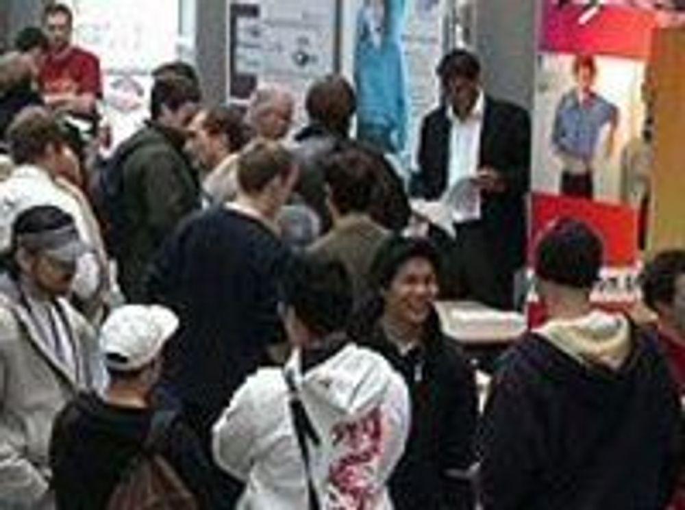 IT-bedrifter svermer for NTNU-studenter