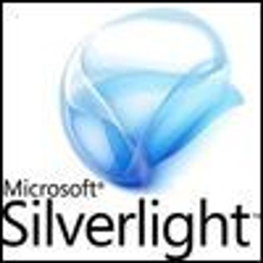 Microsoft utvider Silverlight-oppdatering