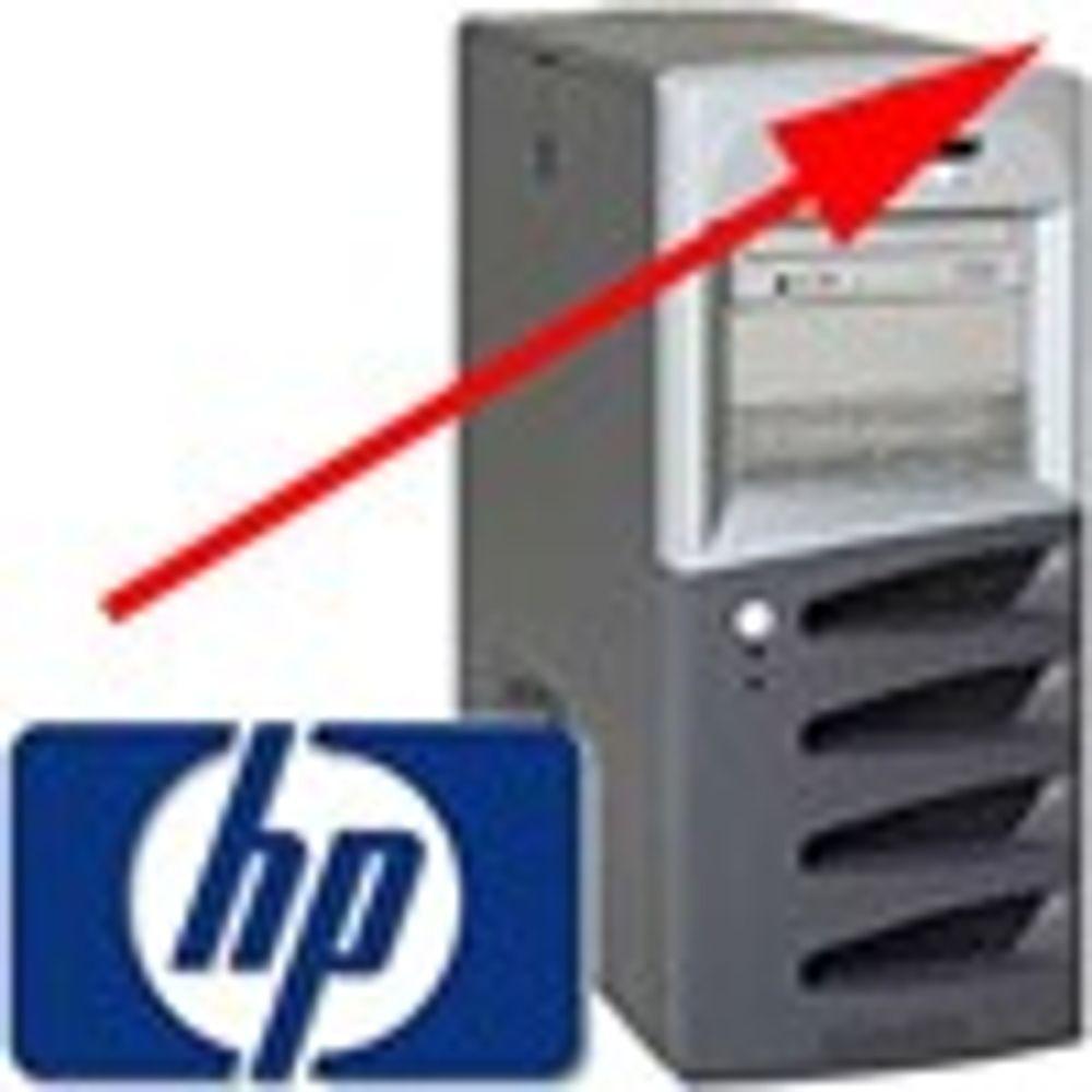 HP på nippet til å ta igjen IBM innen servere