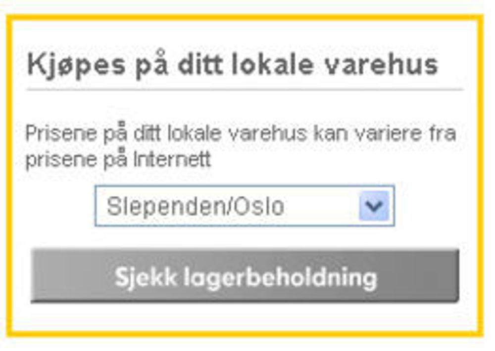 Ikea  åpner nettbutikk