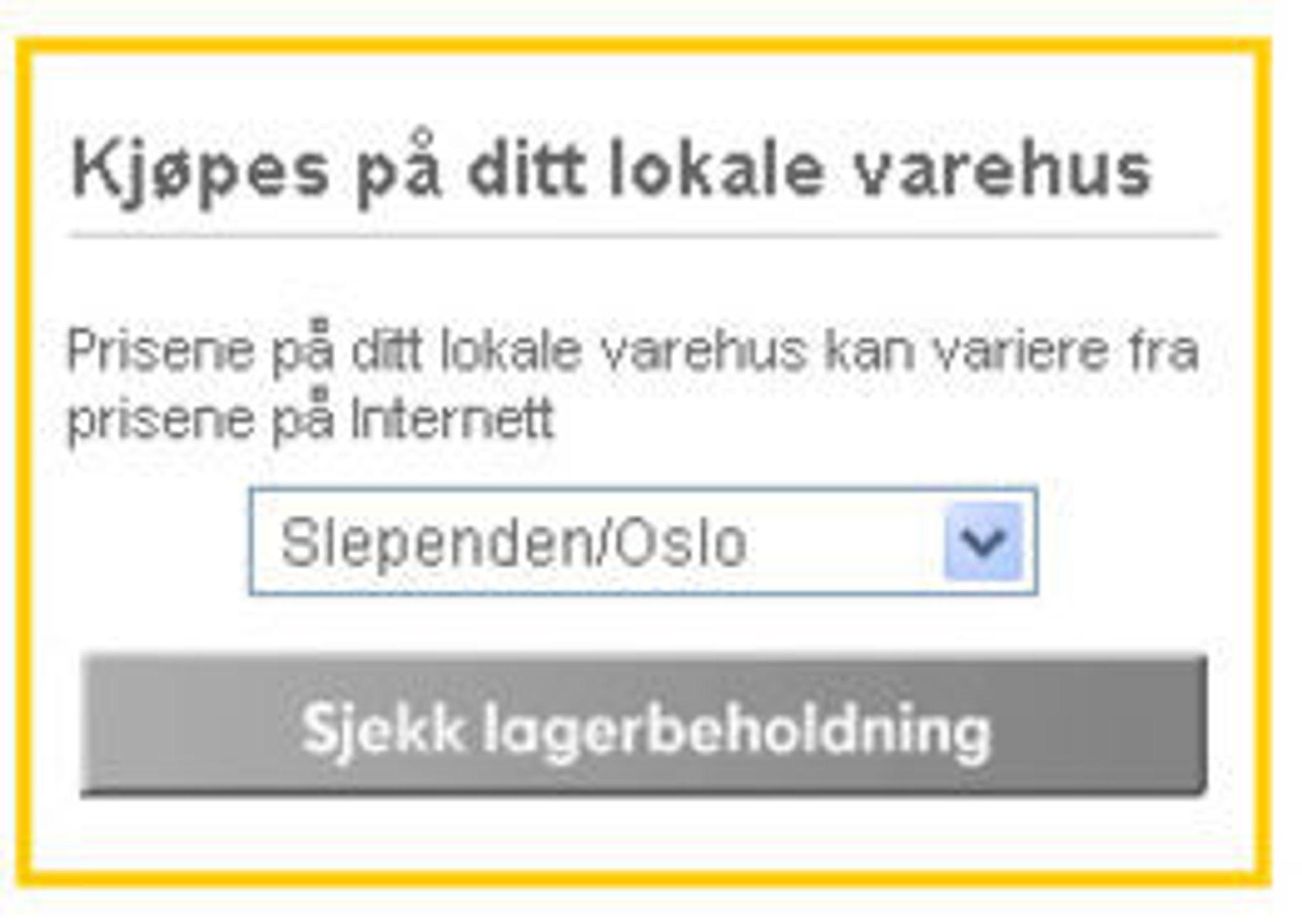Ikea nettbutikk
