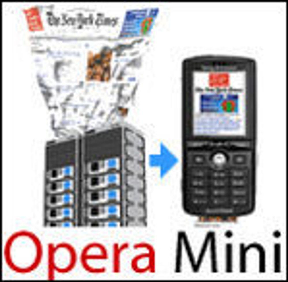 Populær ny utgave av Opera Mini